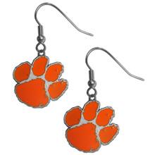 Clemson Tigers Dangle Earrings NCCA College Sports CDE69