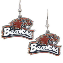 Oregon State Beavers Dangle Earrings NCCA College Sports CDE72