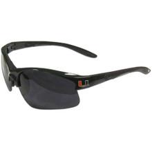 Miami Hurricanes Blade Sunglasses NCCA College Sports 2CGA6