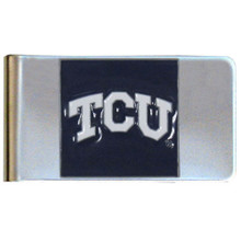 TCU Horned Frogs Logo Money Clip NCCA College Sports CMCL112