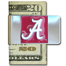 Alabama Crimson Tide Logo Money Clip NCCA College Sports CMCL13