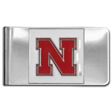 Nebraska Cornhuskers Logo Money Clip NCCA College Sports CMCL3