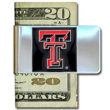 Texas Tech Raiders Logo Money Clip NCCA College Sports CMCL30