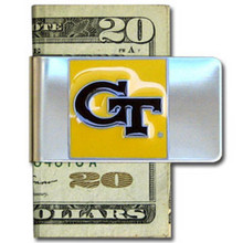 Georgia Tech Yellow Jackets Logo Money Clip NCCA College Sports CMCL44