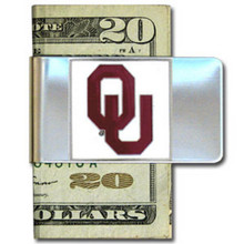 Oklahoma Sooners Logo Money Clip NCCA College Sports CMCL48