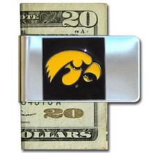Iowa Hawkeyes Logo Money Clip NCCA College Sports CMCL52