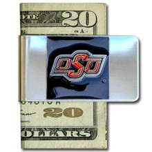 Oklahoma State Cowboys Logo Money Clip NCCA College Sports CMCL58