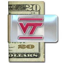 Virginia Tech Hokies Logo Money Clip NCCA College Sports CMCL61