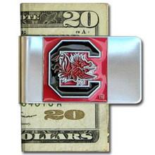 South Carolina Gamecocks Logo Money Clip NCCA College Sports CMCL63