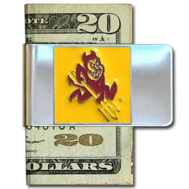 Arizona State Sun Devils Logo Money Clip NCCA College Sports CMCL68