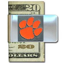 Clemson Tigers Logo Money Clip NCCA College Sports CMCL69