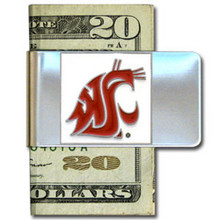Washington State Cougars Logo Money Clip NCCA College Sports CMCL71