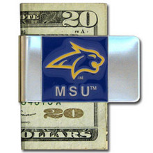 Montana State Bobcats Logo Money Clip NCCA College Sports CMCL74