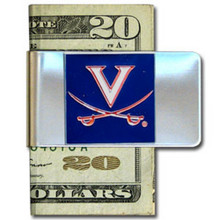 Virginia Cavaliers Logo Money Clip NCCA College Sports CMCL78