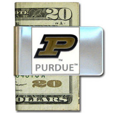 Purdue Boilermakers Logo Money Clip NCCA College Sports CMCL84