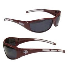 Texas A&M Aggies Wrap Sunglasses NCCA College Sports 2CSG26