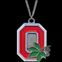 Ohio State Buckeyes Logo Chain Necklace NCCA College Sports CN38