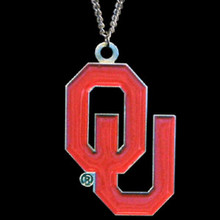 Oklahoma Sooners Logo Chain Necklace NCCA College Sports CN48