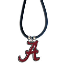 Alabama Crimson Tide Cord Pendant Necklace NCCA College Sports CPR13