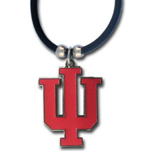 Indiana Hoosiers Cord Pendant Necklace NCCA College Sports CPR39