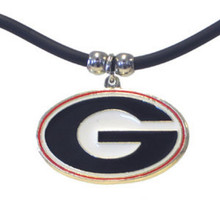 Georgia Bulldogs Cord Pendant Necklace NCCA College Sports CPR5