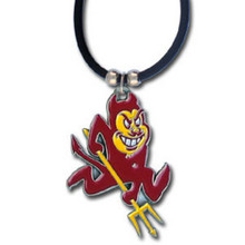 Arizona State Sun Devils Cord Pendant Necklace NCCA College Sports CPR68