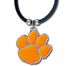 Clemson Tigers Cord Pendant Necklace NCCA College Sports CPR69