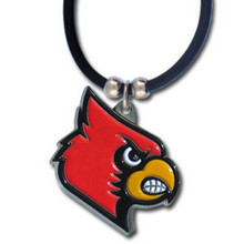 Louisville Cardinals Cord Pendant Necklace NCCA College Sports CPR88