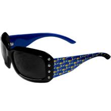 Kansas Jayhawks Rhinestone Designer Sunglasses NCCA College Sports CSG21W