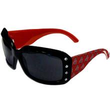 Ohio State Buckeyes Rhinestone Designer Sunglasses NCCA College Sports CSG38W