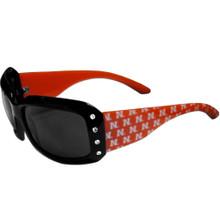 Nebraska Cornhuskers Rhinestone Designer Sunglasses NCCA College Sports CSG3W