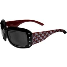 Mississippi State Bulldogs Rhinestone Designer Sunglasses NCCA College Sports CSG45W