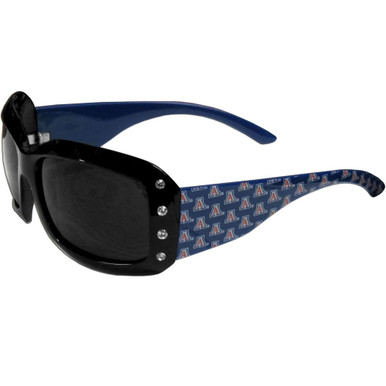 Arizona Wildcats Rhinestone Designer Sunglasses NCCA College Sports CSG54W