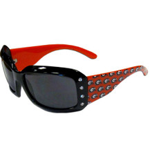 Georgia Bulldogs Rhinestone Designer Sunglasses NCCA College Sports CSG5W