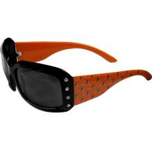 Miami Hurricanes Rhinestone Designer Sunglasses NCCA College Sports CSG6W