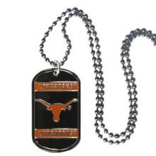 Texas Longhorns Dog Tag Necklace NCCA College Sports CTN22