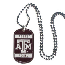 Texas A&M Aggies Dog Tag Necklace NCCA College Sports CTN26