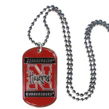 Nebraska Cornhuskers Dog Tag Necklace NCCA College Sports CTN3