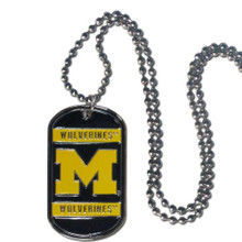 Michigan Wolverines Dog Tag Necklace NCCA College Sports CTN36