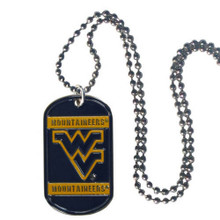 West Virginia Mountaineers Dog Tag Necklace NCCA College Sports CTN60