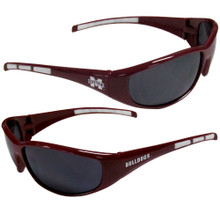 Mississippi State Bulldogs Wrap Sunglasses NCCA College Sports 2CSG45