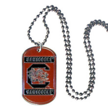 South Carolina Gamecocks Dog Tag Necklace NCCA College Sports CTN63
