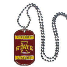 Iowa State Cyclones Dog Tag Necklace NCCA College Sports CTN83