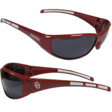 Oklahoma Sooners Wrap Sunglasses NCCA College Sports 2CSG48