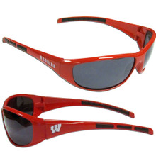 Wisconsin Badgers Wrap Sunglasses NCCA College Sports 2CSG51