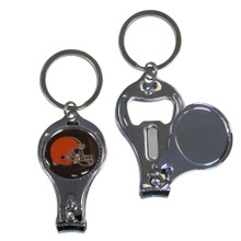 Cleveland Browns 3 in 1 Key Chain