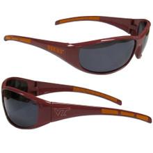 Virginia Tech Hokies Wrap Sunglasses NCCA College Sports 2CSG61