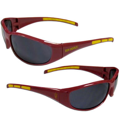 Arizona State Sun Devils Wrap Sunglasses NCCA College Sports 2CSG68