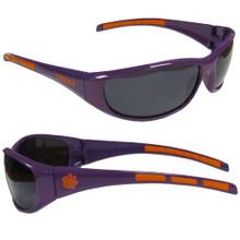 Clemson Tigers Wrap Sunglasses NCCA College Sports 2CSG69