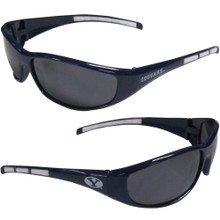 BYU Cougars Wrap Sunglasses NCCA College Sports 2CSG86